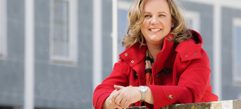 SPD-Oberbürgermeisterkandidatin Katharina Schrader